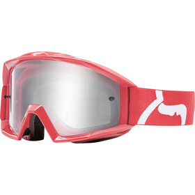 Fox Main Race Gafas enduro, red